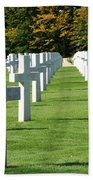Saint Mihiel American Cemetery Hand Towel by Travel Pics