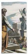Saint Paul At Athens Bath Towel