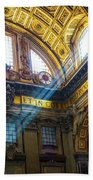 Saint Peter's Beams Of Light Bath Towel