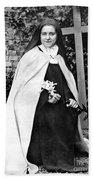 Saint Therese De Lisieux Bath Towel