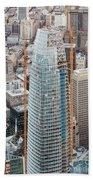 Salesforce Tower In San Francisco Hand Towel