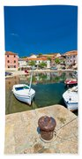 Sali Village On Dugi Otok Island Bath Towel
