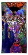 Salvation Within Solar Light Bath Sheet by Joseph Mosley