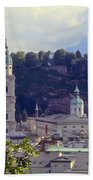Salzburg City View Two Bath Towel