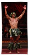 Samoan Warrior Bath Towel