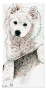 Samoyed Puppy Bath Towel