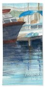 San Diego Mission Bay Bath Towel