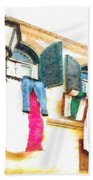 San Felice Circeo Put Clothes Hand Towel
