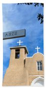 San Francisco De Asis - Rancho De Taos Bath Towel
