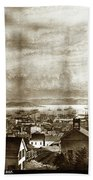 San Francisco, From Clay Street, 1855 Bath Towel