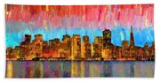 San Francisco Skyline 11 - Pa Bath Towel