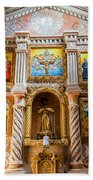 San Javier Church Altar Bath Towel