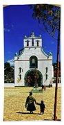 San Juan Chamula Church In Chiapas, Mexico Bath Towel