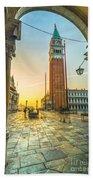 San Marco - Venice - Italy  Bath Towel