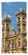 City Hall - San Sebastian - Spain Bath Towel