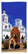 San Xavier Del Bac Mission Bath Sheet