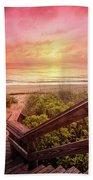 Sand Dune Morning Bath Sheet by Debra and Dave Vanderlaan