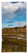 Sand Dunes In Indiana Bath Towel