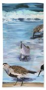 Sandpiper Party Bath Towel