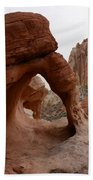 Sandstone Arches Valley Of Fire Bath Towel