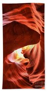 Sandstone Dog Abstract Bath Towel