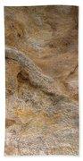 Sandstone Formation Number 4 At Starved Rock State Bath Towel