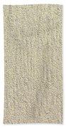 Sandy Beach Detail Lined Texture Background Bath Towel