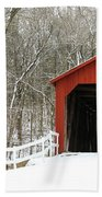 Sandy Creek Covered Bridge Bath Towel