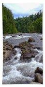 Sandy River Bath Towel
