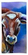 Sandy's Longhorn Bull Hand Towel