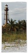 Sanibel Island Lighthouse Bath Towel