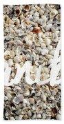 Sanibel Island Seashells Hand Towel