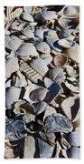 Sanibel Island Seashells I Bath Towel