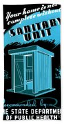 Sanitary Unit Fap Poster Bath Towel