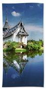 Sanphet Prasat Palace, Thailand Bath Towel