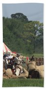 Santa Anna's Camp Bath Towel