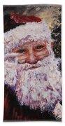 Santa Chat Hand Towel
