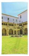 Santa Cruz Monastery Cloister Bath Towel
