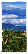 Santa Fe New Mexico Bath Towel