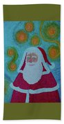 Santa Bath Towel