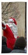 Santa Says Hello Bath Towel