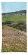 Santa Ynez Mountains Green Hills Ranch Bath Towel