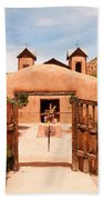Santo Nino De Atocha Chimayo New Mexico Bath Towel