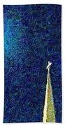 Sapphire Moon Glow Bath Towel