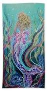 Sassy Mermaid  Hand Towel