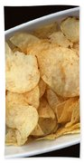 Satisfy The Craving With Chips And Dip Bath Towel