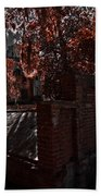 Savanna Georia Colonial Park Cemetery Color Infrared 500 Bath Towel