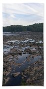 Savannah River At Evans Bath Towel