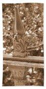 Savannah Sepia - Finials Bath Towel