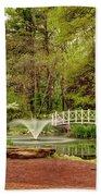 Sayen Gardens Bridge Series Bath Towel